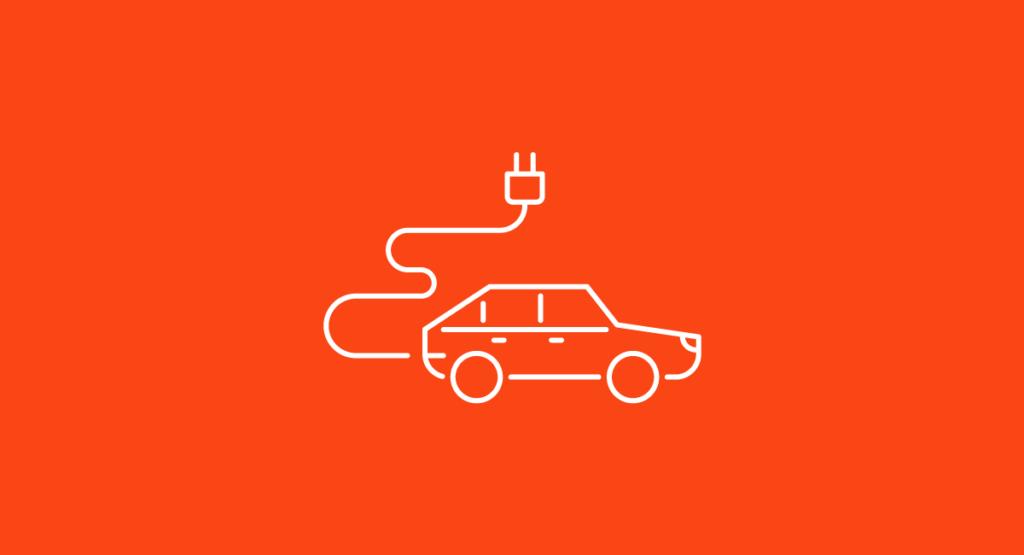 EV Vehicle Graphic