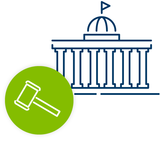 Capitol Gavel Icon