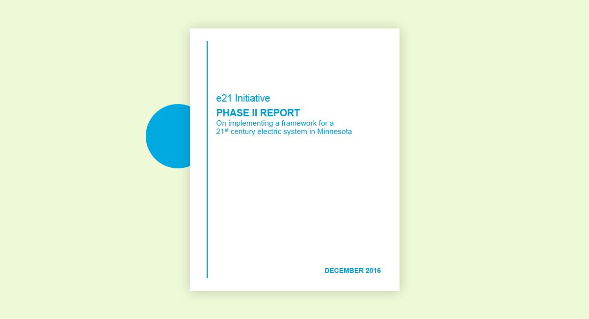 e21 Phase II Report Cover