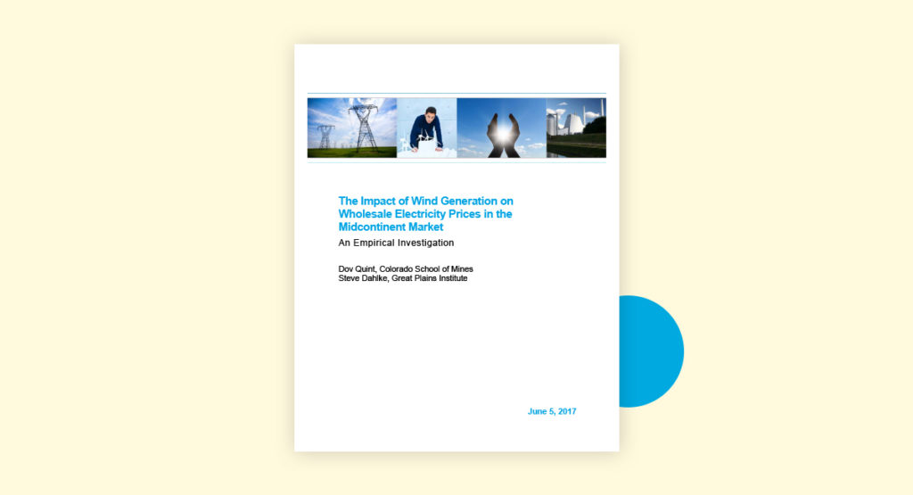 Impact Wind Generation Cover