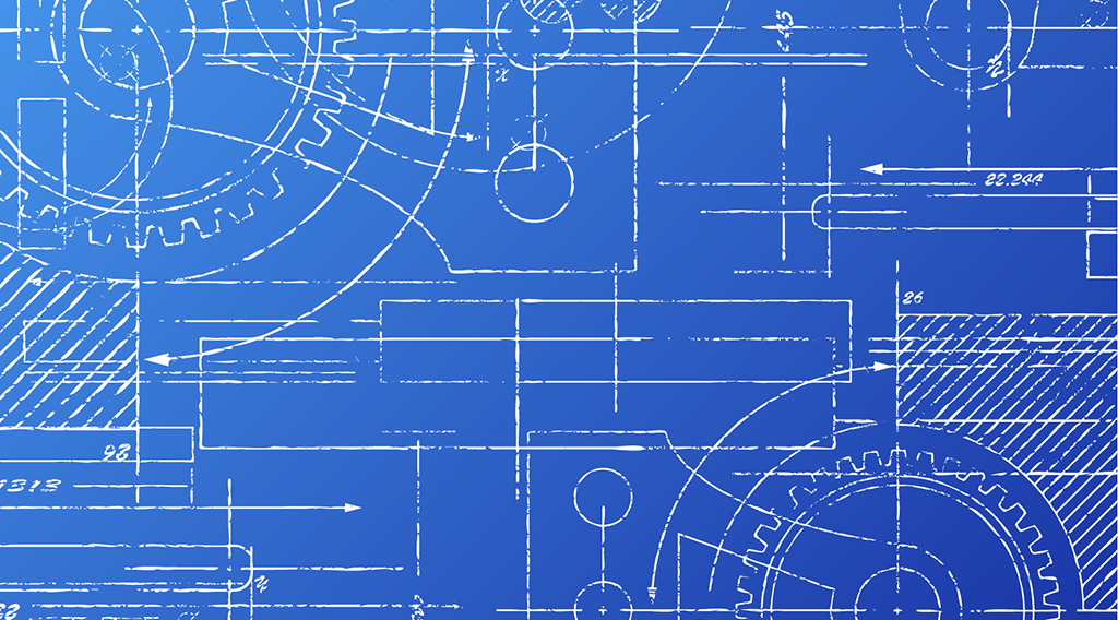 Blueprint graphic