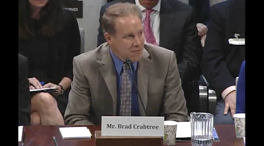 Brad Crabtree testifies to US House Select Committee on the Climate Crisis