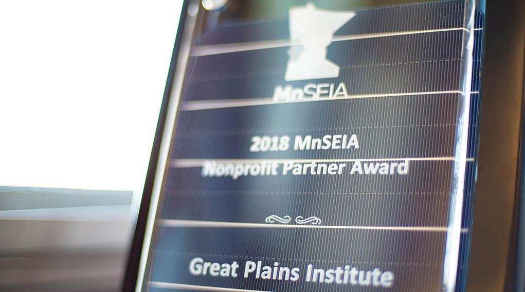 Minnesota Solar Energy Industries Association Award