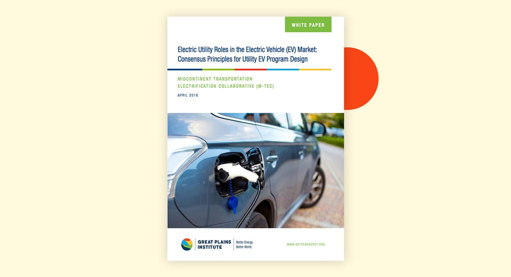 White Paper Electric Vehicles Have Potential to Transform the Grid with Previously Unrealized Benefits in the Midcontinent