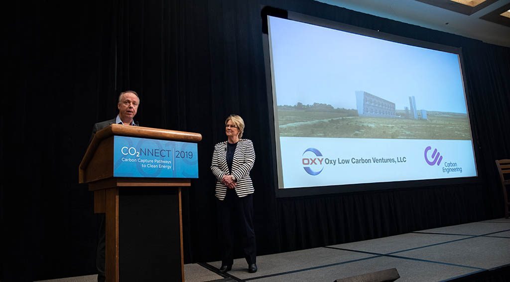 A presentation at the co2nnect conference